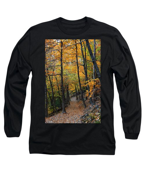 Fall Foliage Colors 03 Long Sleeve T-Shirt