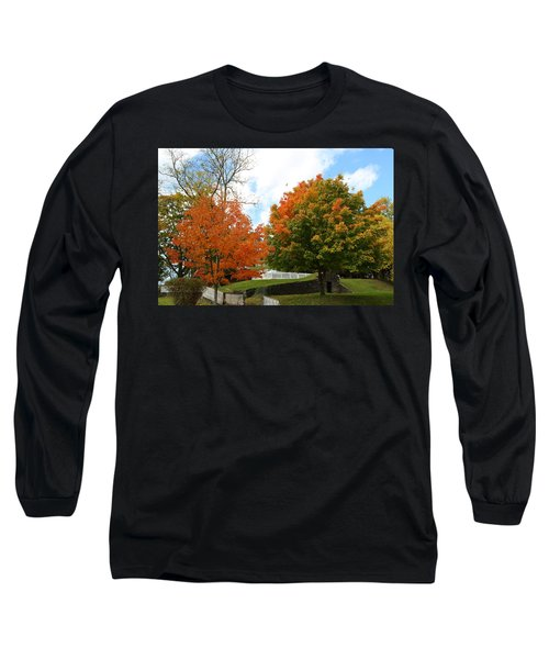 Fall Foliage Colors 09 Long Sleeve T-Shirt