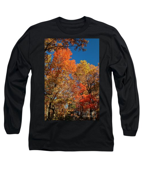 Fall Foliage Long Sleeve T-Shirt by Patrick Shupert