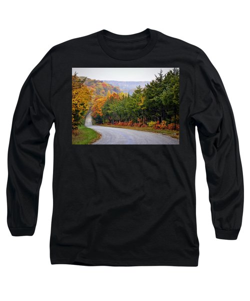 Fall On Fox Hollow Road Long Sleeve T-Shirt