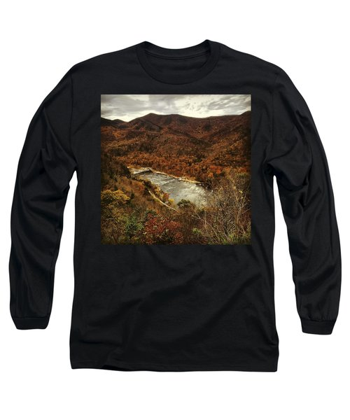 Fall On The Maury Long Sleeve T-Shirt
