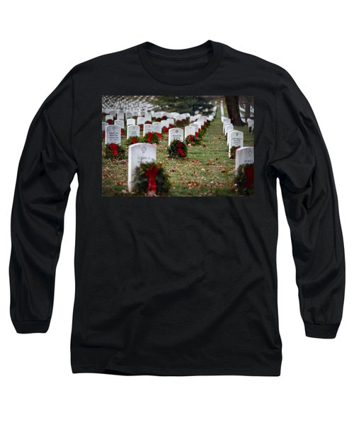 Fallen Heroes Honor And Remember Long Sleeve T-Shirt