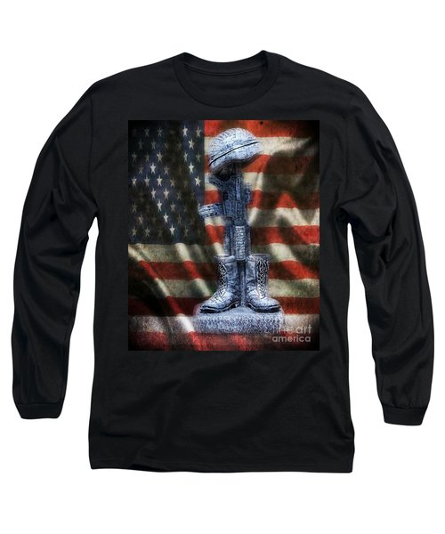 Fallen Soldiers Memorial Long Sleeve T-Shirt