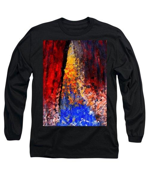Falling Long Sleeve T-Shirt by Ian  MacDonald