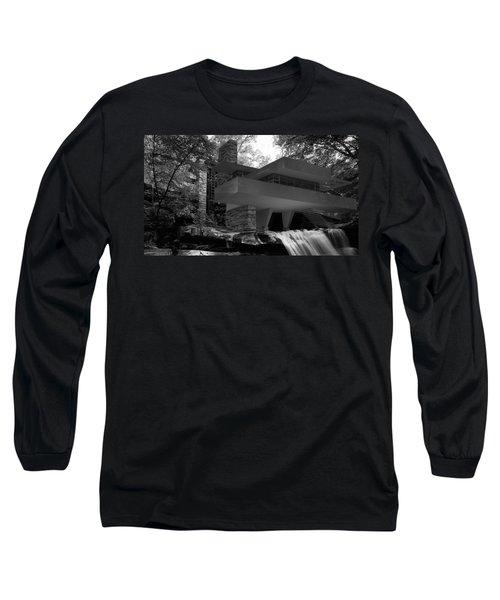Falling Waters Long Sleeve T-Shirt by Louis Ferreira