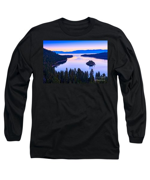 Fannette Island Sunrise Long Sleeve T-Shirt