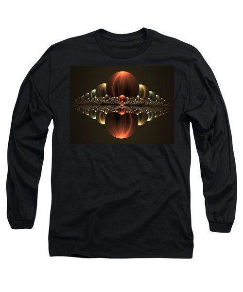 Long Sleeve T-Shirt featuring the digital art Fantastic Skyline by Gabiw Art