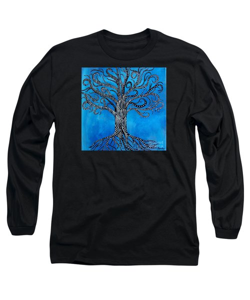 Fantastical Tree Of Life Long Sleeve T-Shirt