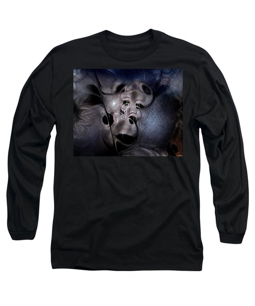 Long Sleeve T-Shirt featuring the digital art Farmaceutical Future by Casey Kotas