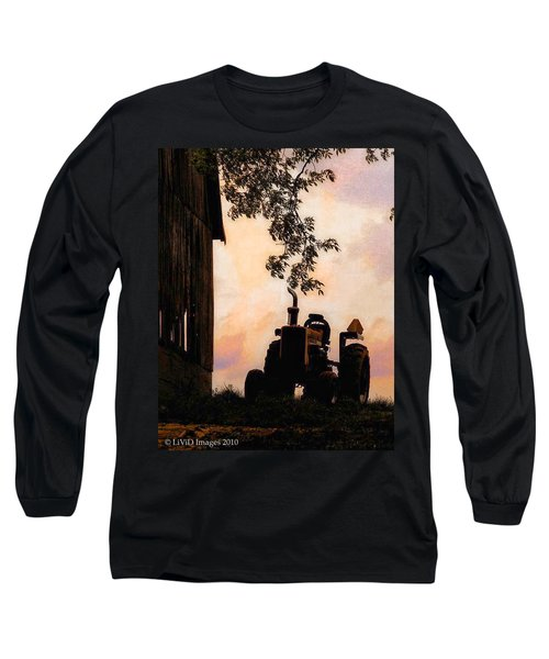 Farmers Sunset Long Sleeve T-Shirt