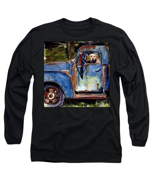 Farmhand Long Sleeve T-Shirt by Molly Poole