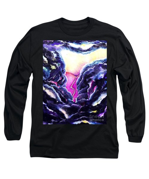 Long Sleeve T-Shirt featuring the painting Father's Heart by Hazel Holland