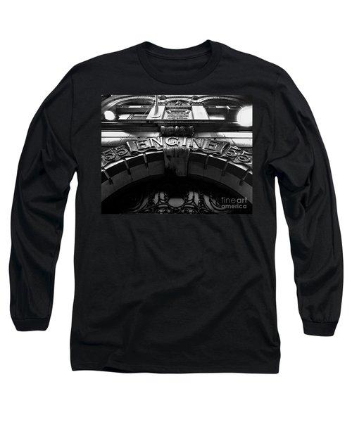 Fdny - Engine 55 Long Sleeve T-Shirt by James Aiken