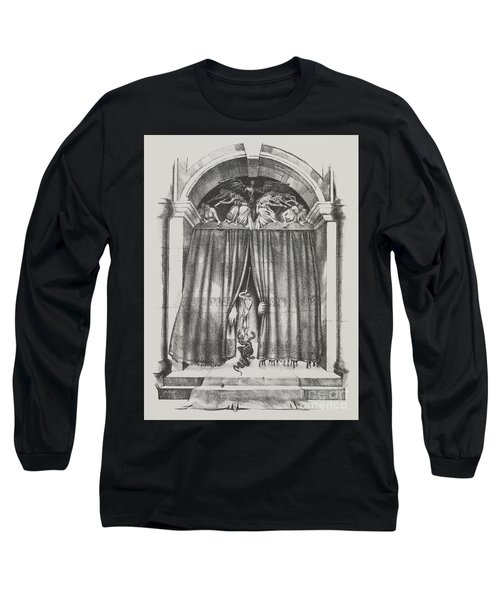 Fear's Overture Long Sleeve T-Shirt by Yvonne Wright