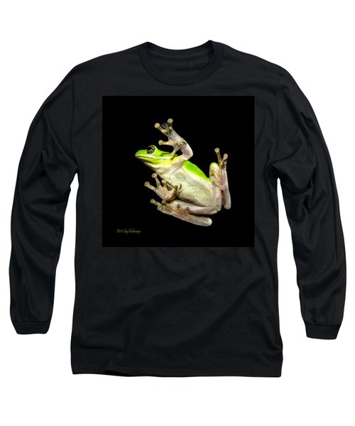 Feathered Frog Long Sleeve T-Shirt