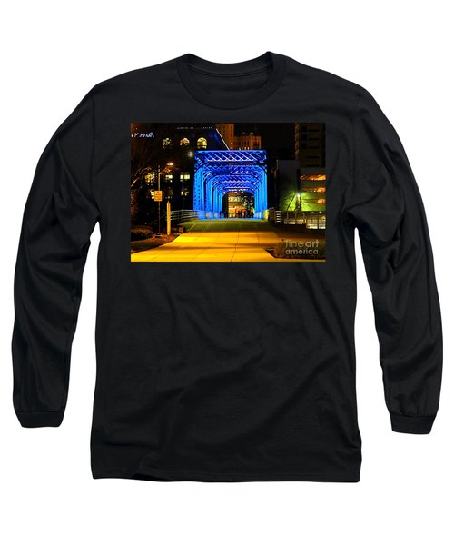 Long Sleeve T-Shirt featuring the photograph Feeling Blue by Robert Pearson