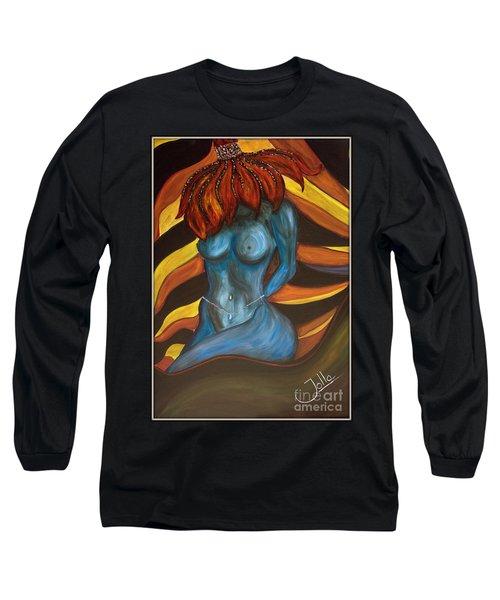 Feeling The Blues... Long Sleeve T-Shirt