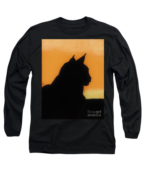 Feline - Sunset Long Sleeve T-Shirt