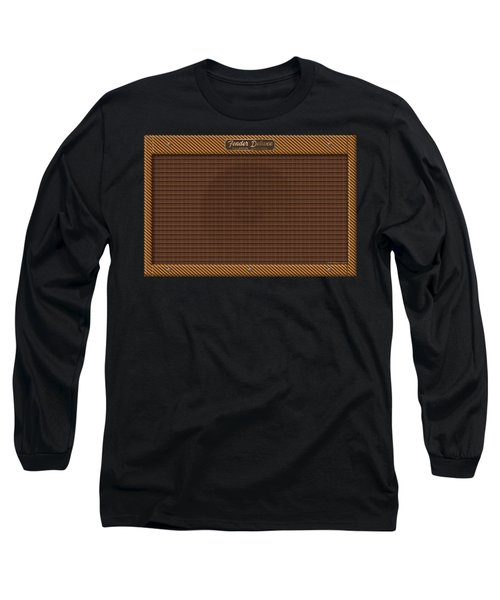 Long Sleeve T-Shirt featuring the digital art Fender Deluxe by WB Johnston