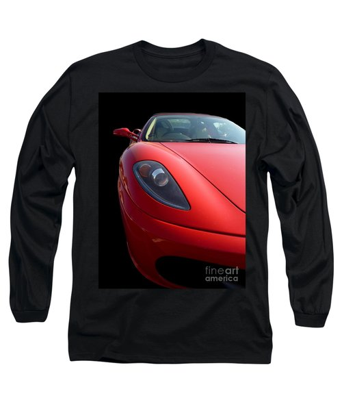 Ferrari Long Sleeve T-Shirt by Vicki Spindler