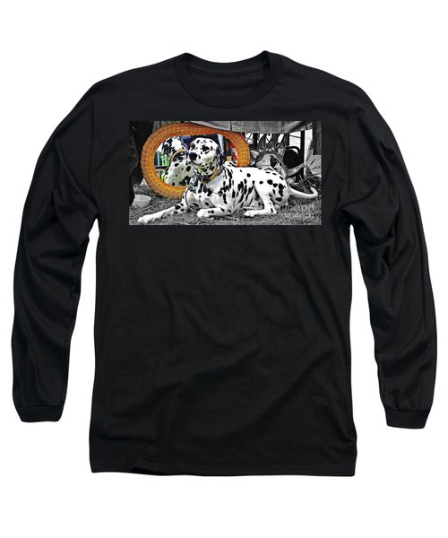 Festival Dog Long Sleeve T-Shirt