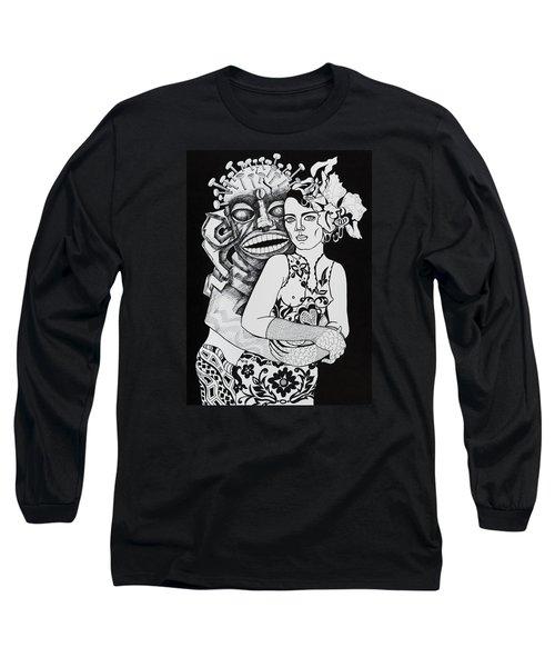 Fetish Girl Long Sleeve T-Shirt by Yelena Tylkina