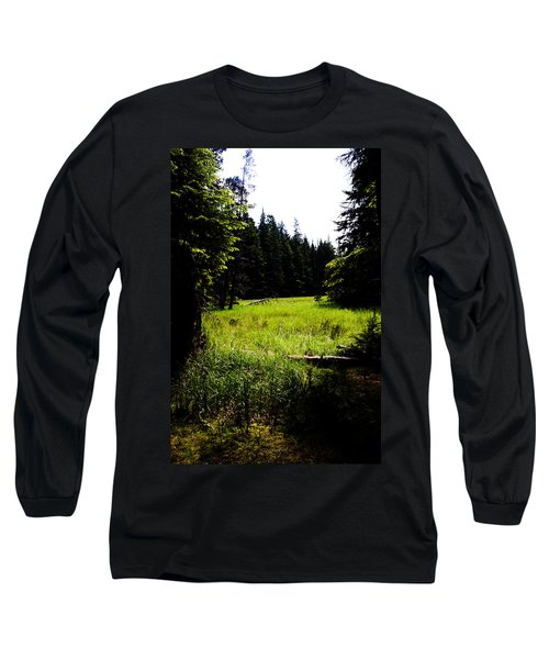 Field Of Possibilities Long Sleeve T-Shirt