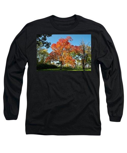 Fiery Fall Long Sleeve T-Shirt