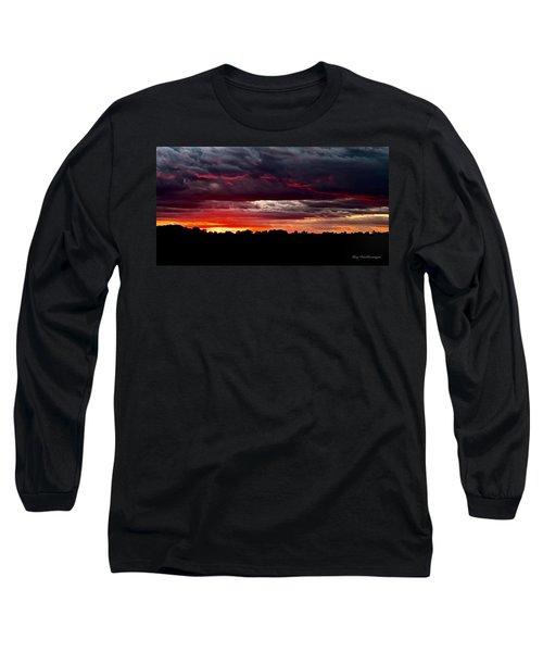 Fiery Glow Long Sleeve T-Shirt