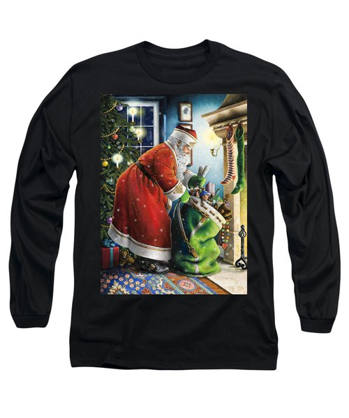 Filling The Stockings Long Sleeve T-Shirt