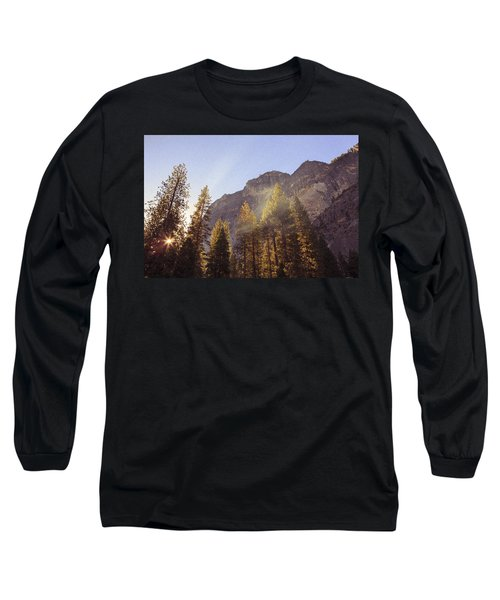 Morning Skies Of Yosemite Long Sleeve T-Shirt