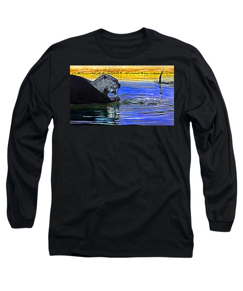 Find A Crab  Crunch A Crab Long Sleeve T-Shirt