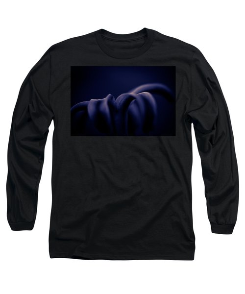 Finding Comfort In The Shadows Long Sleeve T-Shirt by Shane Holsclaw