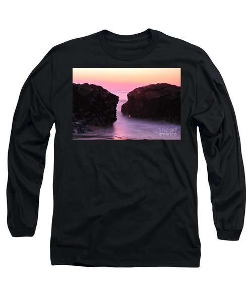 Fine Art Water And Rocks Long Sleeve T-Shirt