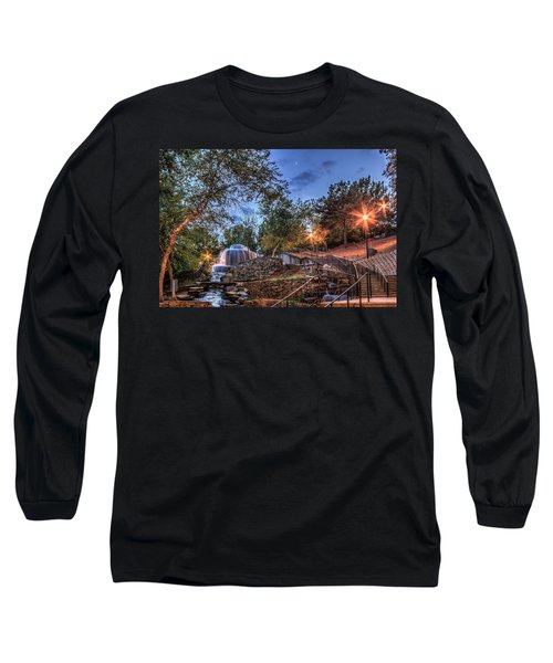 Long Sleeve T-Shirt featuring the photograph Finlay Park by Rob Sellers