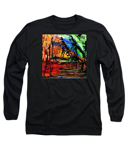 Fire And Flood Long Sleeve T-Shirt