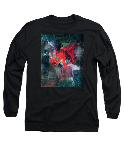 Fire And Ice Long Sleeve T-Shirt by Lee Beuther