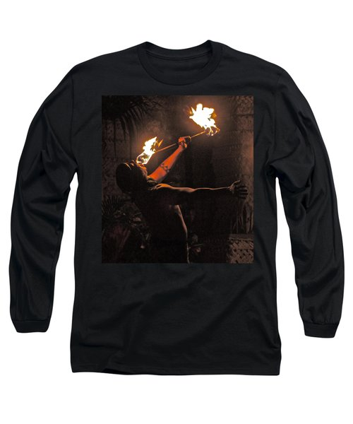 Fire Dancer Long Sleeve T-Shirt