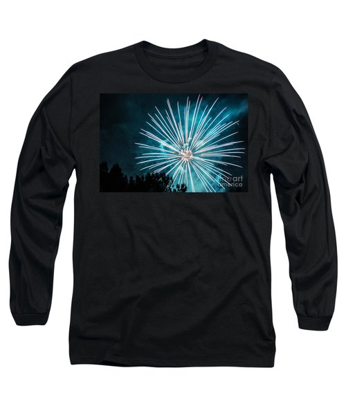 Long Sleeve T-Shirt featuring the photograph Fire Flower by Suzanne Luft