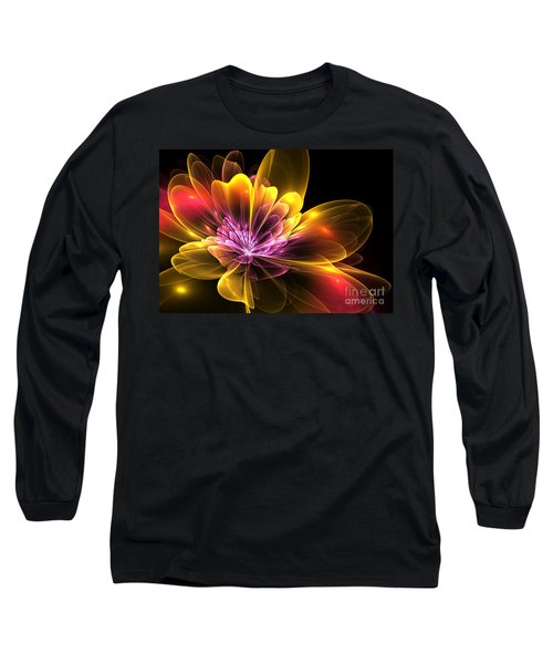 Fire Flower Long Sleeve T-Shirt