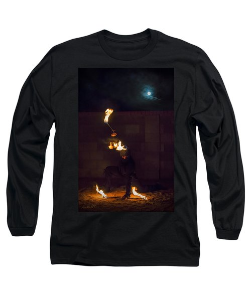 Fire Ninja Long Sleeve T-Shirt