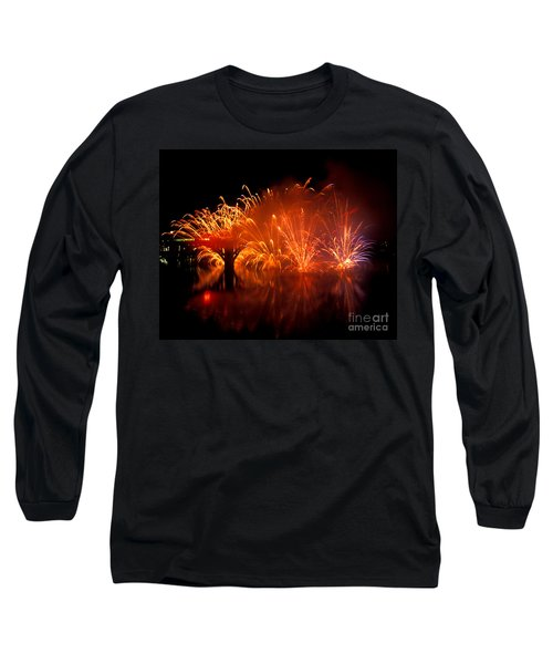 Fire On The Water Long Sleeve T-Shirt