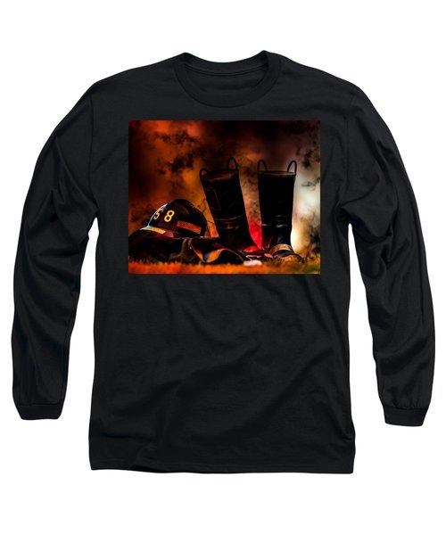 Firefighter Long Sleeve T-Shirt