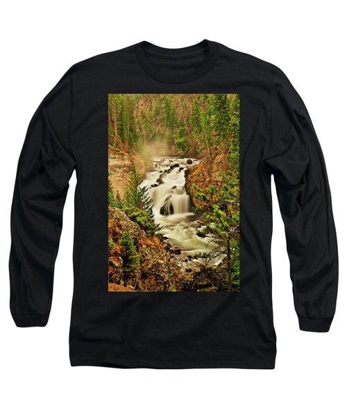 Firehole Falls Long Sleeve T-Shirt