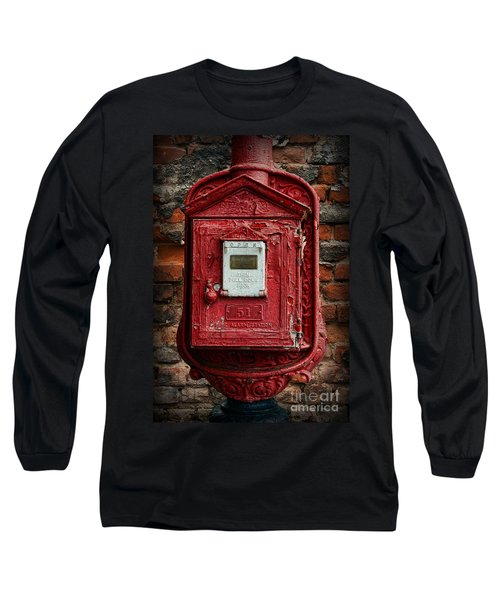 Fireman - The Fire Alarm Box Long Sleeve T-Shirt