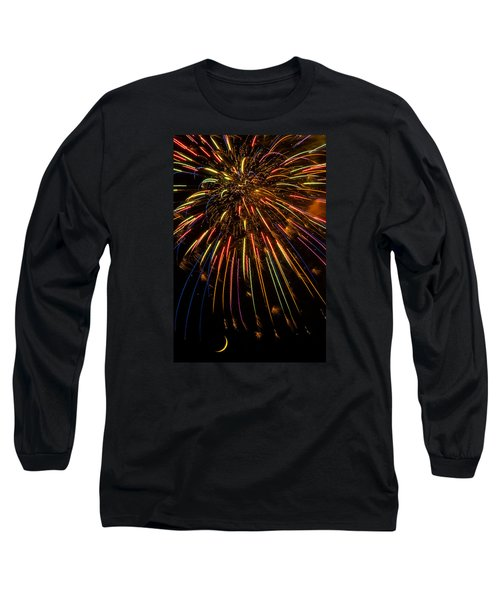 Firework Indian Headdress Long Sleeve T-Shirt