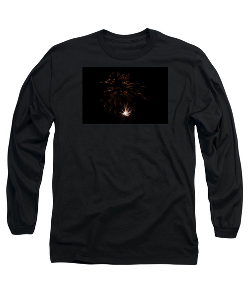 Long Sleeve T-Shirt featuring the photograph Fireworks 2 by Susan  McMenamin