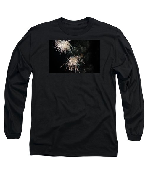 Long Sleeve T-Shirt featuring the photograph Fireworks 3 by Susan  McMenamin