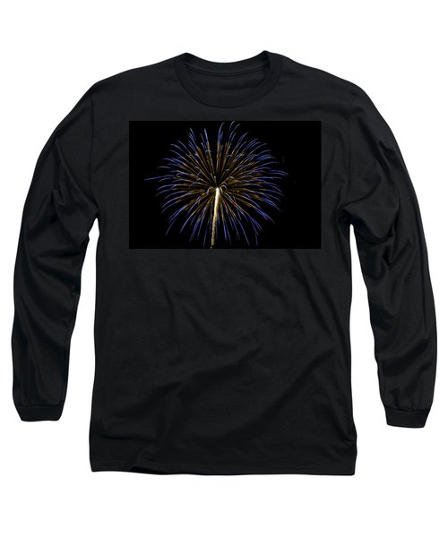 Fireworks Bursts Colors And Shapes 3 Long Sleeve T-Shirt