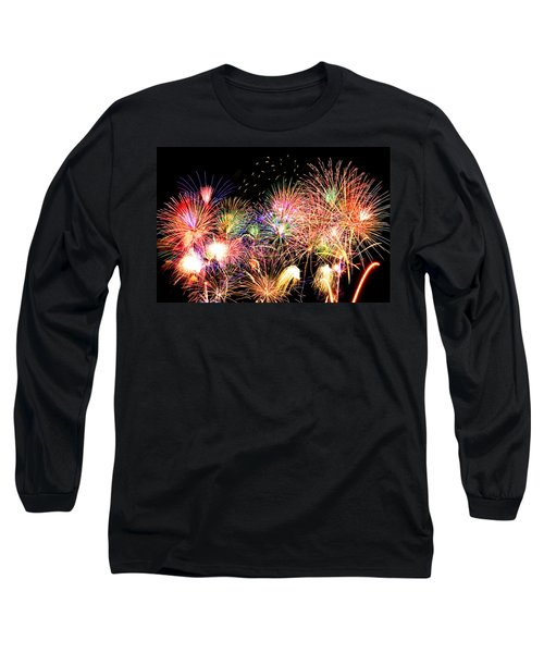 Fireworks Finale Long Sleeve T-Shirt